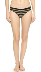 Morgan Lane Astrid Jordan Panties Gold Noir