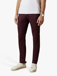 Ted Baker Teenchi Slim Fit Chinos Purple