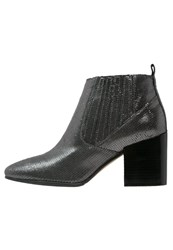 Bruno Premi Ankle Boots Fucile Metallic Grey