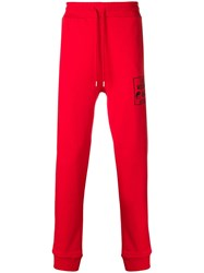 Love Moschino Logo Embroidered Track Pants
