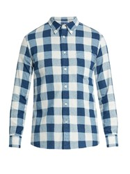 Blue Blue Japan Checked Cotton Flannel Shirt Multi