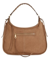Dkny Shanna Large Hobo Created For Macy's Taupe