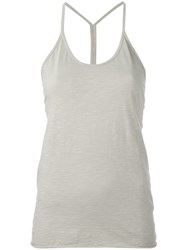 Lost And Found Rooms Racer Back Tank Top Neutrals