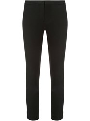 Theory Classic Skinny Trousers Black