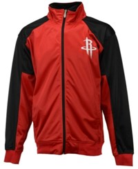 Majestic Men's Houston Rockets Geo Track Jacket
