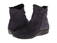 Arcopedico L19 Grey Suede Women's Zip Boots Gray