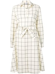 Paul Smith Ps Tie Waist Dress White