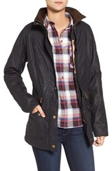 Barbour Women's 'Crossrail' Waxed Cotton Jacket