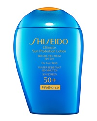 Shiseido Ultimate Sun Protection Lotion Spf 50 Wetforce 3.3 Oz.