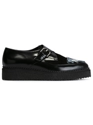 Markus Lupfer Buckled Creepers Black