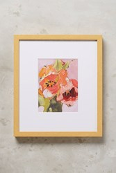 Anthropologie Orange Tulips Wall Art Orange Motif