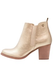 Refresh Ankle Boots Gold