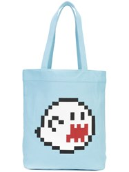 Mostly Heard Rarely Seen Haunting You Tote Bag Unisex Cotton Blue