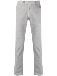 Al Duca D'aosta 1902 Large Corduroy Trousers Grey