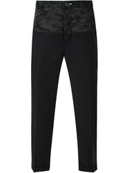 Guild Prime Camouflage Detail Trousers Black