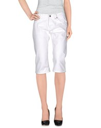 Twin Set Simona Barbieri Denim Denim Bermudas Women