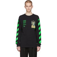 Off White Black Pascal Painting T Shirt