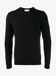 Stephan Schneider Poplars Wool Alpaca Blend Sweater Black Grey White
