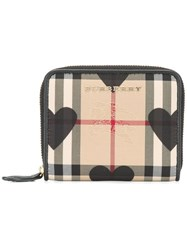 Burberry House Check Wallet Black