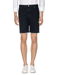 Golden Goose Deluxe Brand Denim Bermudas Black