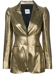 Moschino Vintage Metallic Fitted Jacket