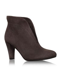 Carvela Kurt Geiger Rida Ankle Boots Female Grey