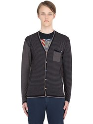 Bob Strollers Striped Wool Cardigan