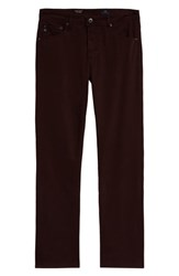 Ag Jeans Everett Sud Slim Straight Fit Pants Rich Carmine
