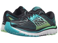 Brooks Glycerin 14 Black Viridian Green Silver Women's Running Shoes