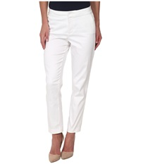 Nydj Corynna Skinny Ankle Optic White Women's Casual Pants