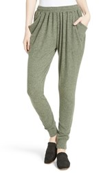 Free People Women's Everyone Loves This Jogger Pants Green
