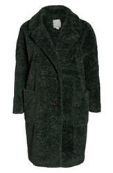 Halogen Plus Size X Atlantic Pacific Faux Fur Coat Green Park