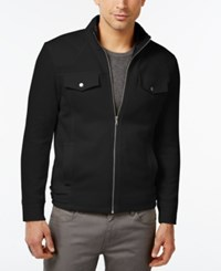 Inc International Concepts Rick Faux Fur Lined Full Zip Jacket Only At Macy's Deep Black