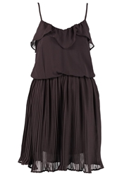 Vero Moda Cocktail Dress Party Dress Shale Brown