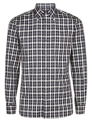 Aquascutum London Harley Club Check Shirt Grey