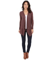 Volcom Free To Go Wrap Chestnut Brown Women's Long Sleeve Pullover