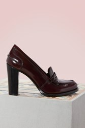 Church's Pembrey Leather Loafers Light Burgundy