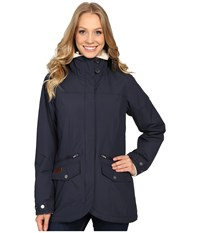 Columbia Grandeur Peak Mid Jacket India Ink Women's Coat Gray