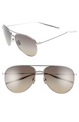 Men's Salt 'Francisco' 59Mm Polarized Sunglasses Grey Grey