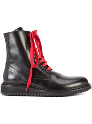 Ann Demeulemeester Glace Boots Black