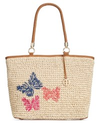 Giani Bernini Butterfly Tote Only At Macy's Natural