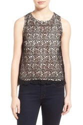 Chelsea 28 Lace Shell Black