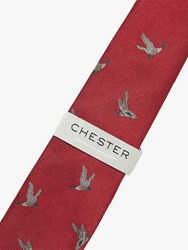 Chester Barrie By Silk Duck Tie Red