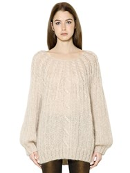 Mes Demoiselles Cable Knit Sweater