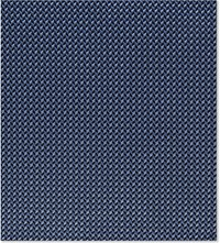 Armani Collezioni Tonal Chevron Silk Pocket Square Blue