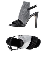 Rebeca Sanver Sandals Black