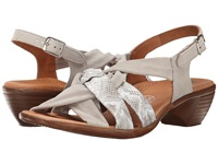 Ara Pinkie Taupe Snake Print Taupe Suede Women's Sandals
