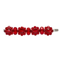 Simone Rocha Red Flower Hair Clip