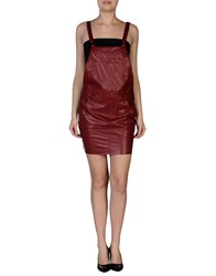 Aniye By Overall Skirts Maroon