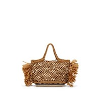 Altuzarra Espadrille Small Raffia Tote Bag Neutral